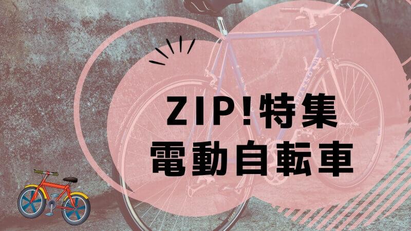 ZIP電動自転車特集